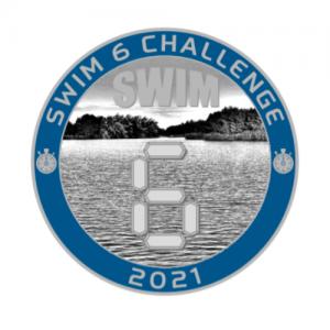 swim 6 challenge coin